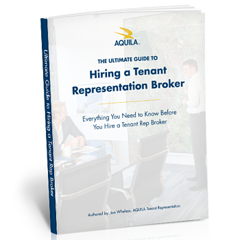 Guide to Hiring a Tenant Rep ebook mock-up
